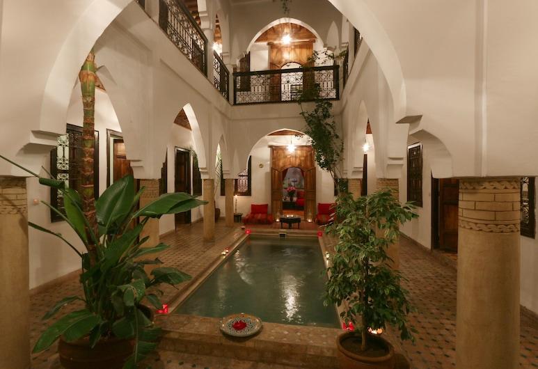 Riad Al Anouwar, Marrakech, Piscine couverte