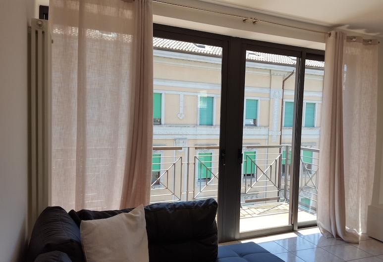 Plaio's Home, Bergamo, Apartmán, bezbariérová izba, Obývačka