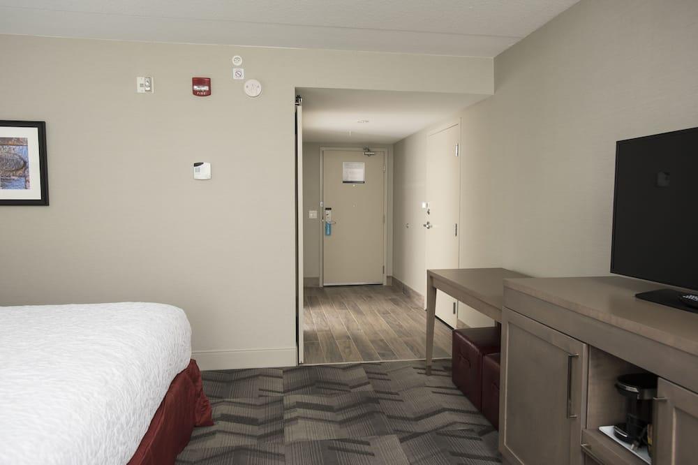 客房, 2 張加大雙人床, 無障礙, 非吸煙房 - 客廳