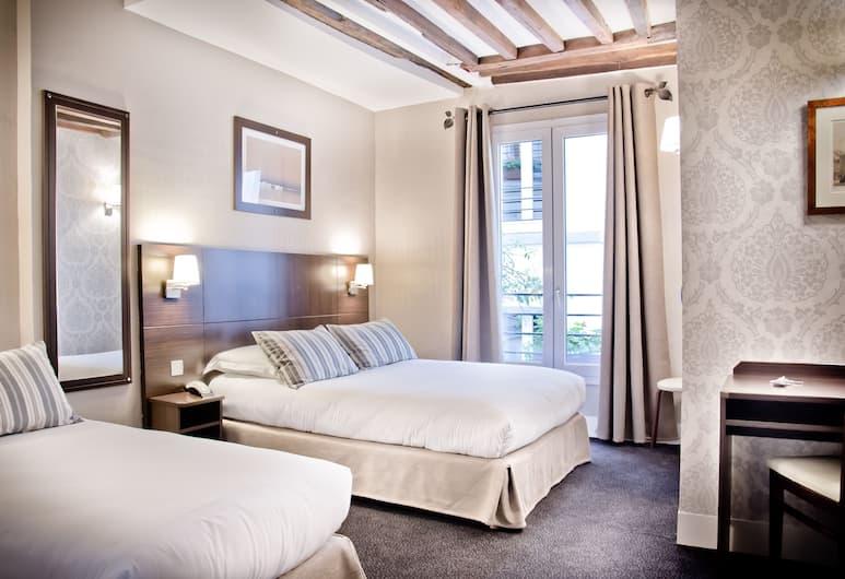 怡東拉丁酒店, 巴黎, 經典三人房, 客房