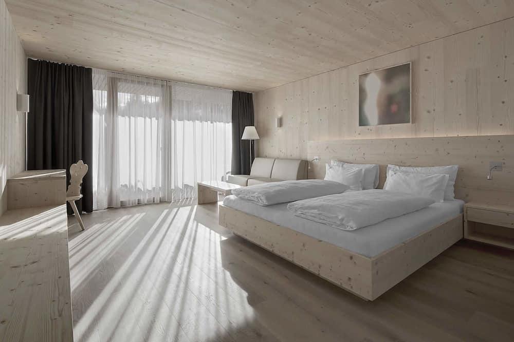 Dvivietis kambarys su patogumais, balkonas - Svečių kambarys