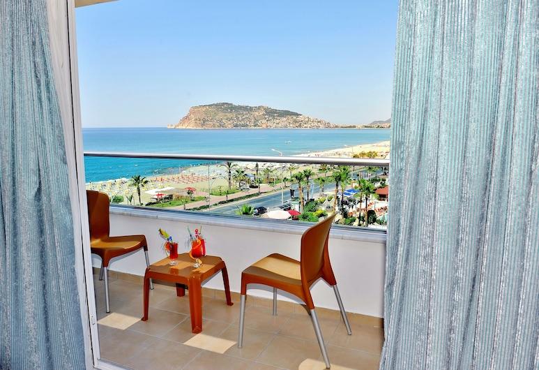 Mesut Hotel - All Inclusive, Alanya, Standard Üç Kişilik Oda, Balkon