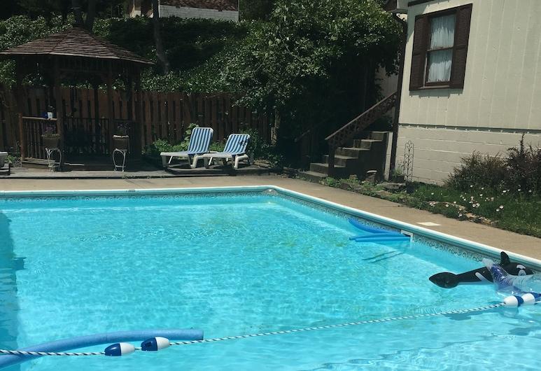 Big South Fork Trail Lodge, Stearns, Vonkajší bazén