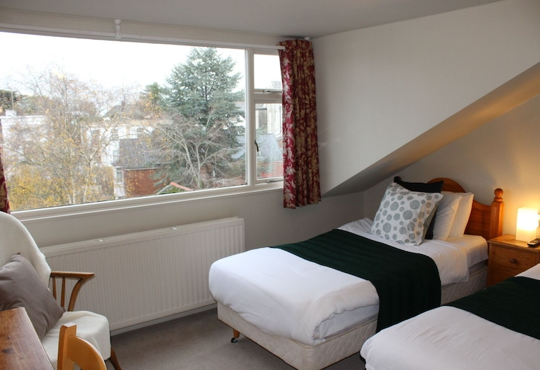 Bendene Townhouse, Exeter, Twin Room, Ensuite, Guest Room