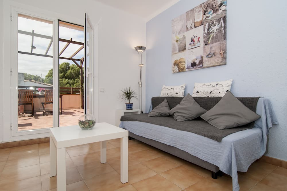Superior-lejlighed - 2 soveværelser - terrasse - havudsigt - Stue