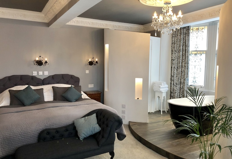 Alamo Guest House, Glasgow, Room 10 - Luxury Ensuite SuperKing or Twin room, Guest Room
