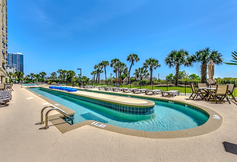 South Wind 301 4 Br condo by RedAwning, Myrtle Beach, Bazén