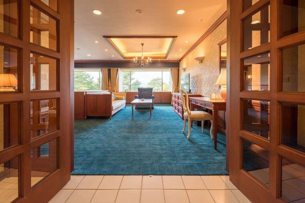套房, 非吸煙房, 附屬樓 (Lake View) - 客廳