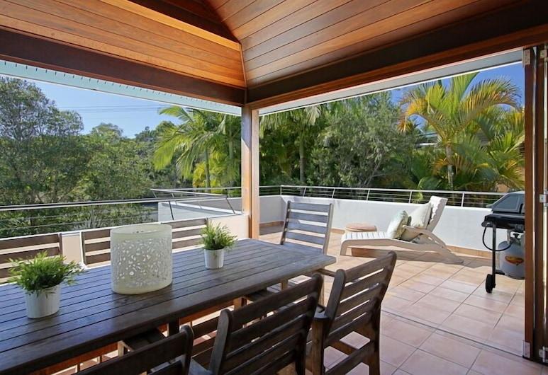 Clarkes Beach Villa, Byron Bay, Stravovanie vonku