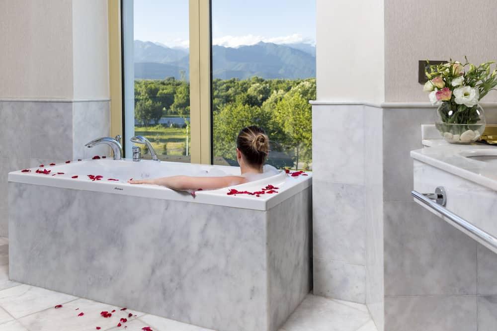 럭셔리 스위트, 침실 2개, 호수 전망 - 욕실