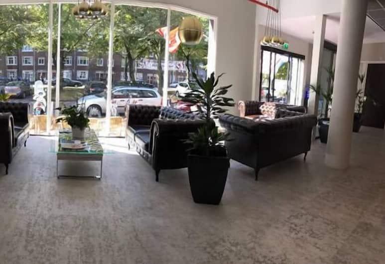 Camp Inn Hotel Amsterdam, Amsterdam, Sitzecke in der Lobby