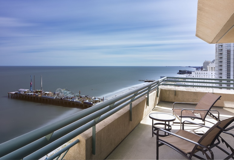 Showboat Hotel, Atlantic City, Grand-Suite, 1King-Bett, Nichtraucher, Meerblick, Zimmer