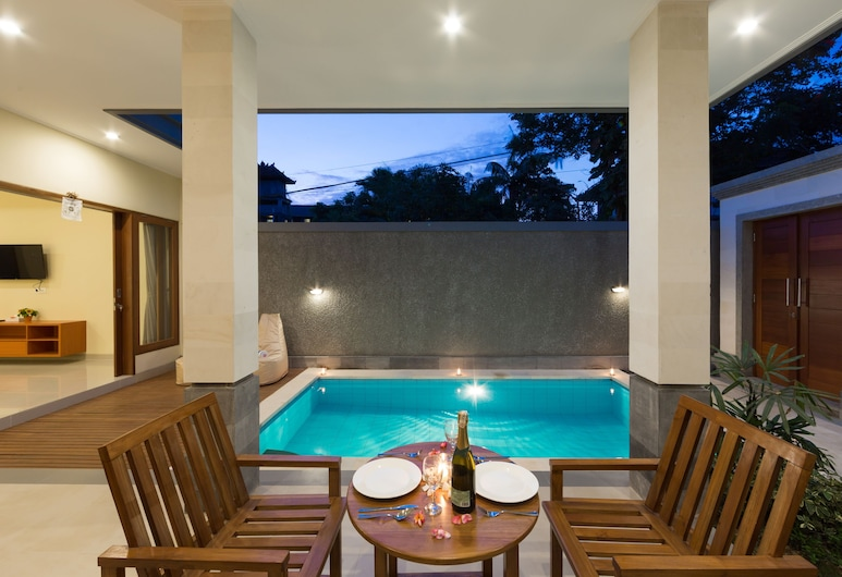 Paisa Villa Seminyak, Seminyak, One Bedroom Deluxe Pool Villa, Sala de jantar (no quarto)