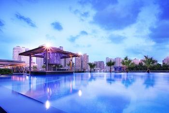 Obrázek hotelu Sentosa Hotel Apartment Taoyuan Branch ve městě Shenzhen