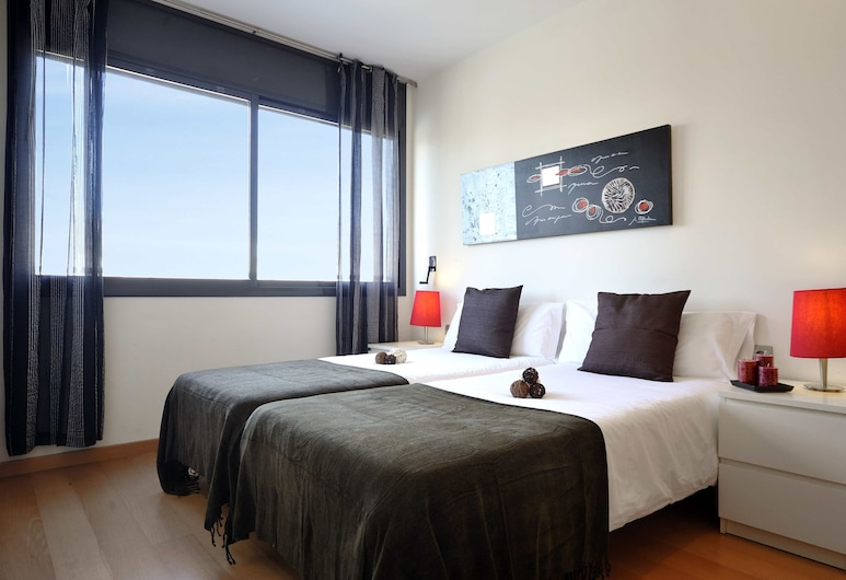 You Stylish Beach Apartments, Barcelona, Lägenhet Economy - 2 sovrum (Passeig Taulat, 223), Rum