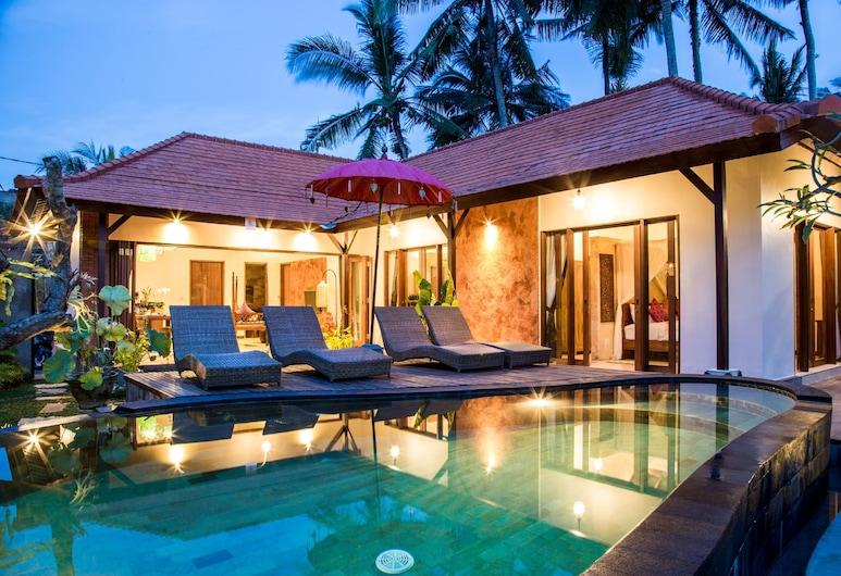 Kakul Villa Ubud & Apartment Suite, Ubud, Vila, 3 kamar tidur, kolam renang pribadi, Kolam renang pribadi