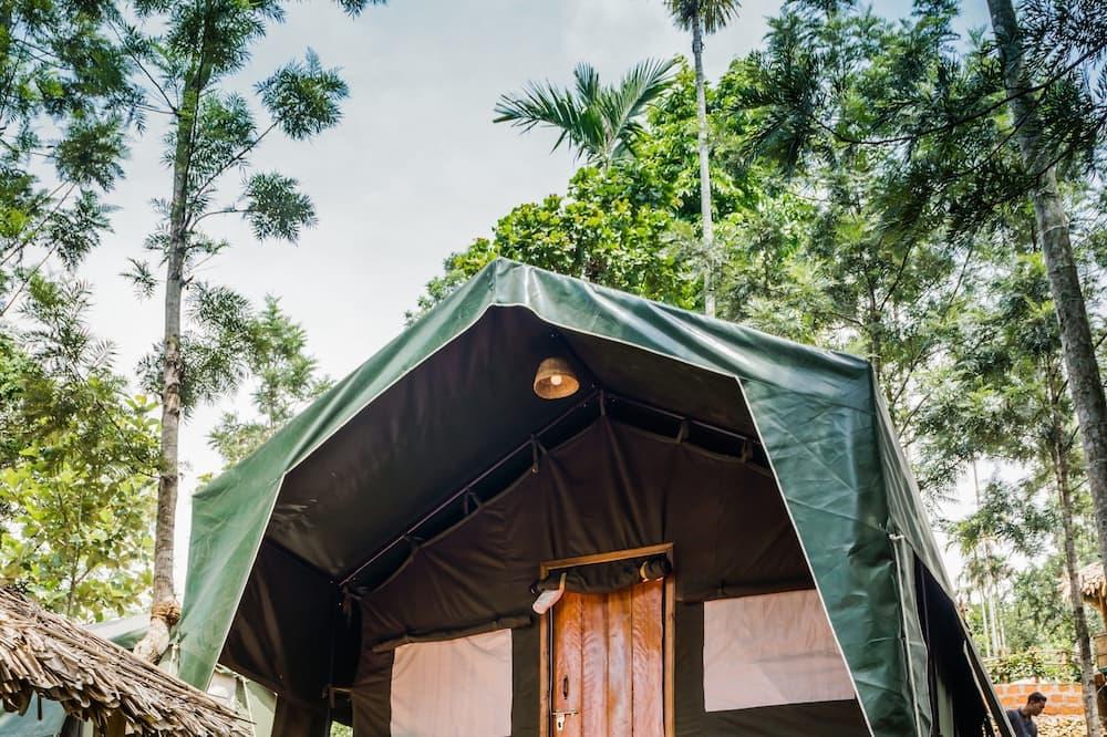 Namiot standardowy, Łóżko podwójne, widok na góry - Pokój