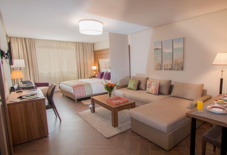 ميليبار للشقق الفندقية, الدار البيضاء, شقة إستديو سوبيريور (Silver), منطقة المعيشة