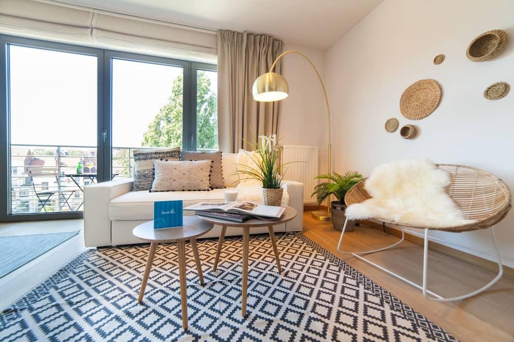 Departamento, 2 habitaciones (II - 101 Rue de Theux) - Sala de estar
