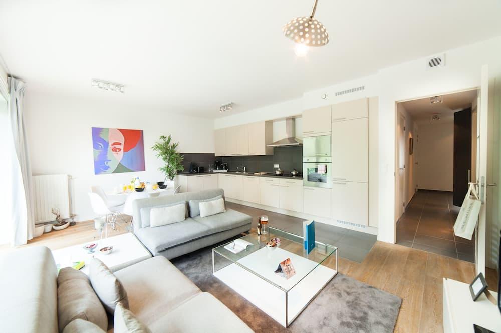 Departamento, 2 habitaciones (I - 101 Rue de Theux) - Sala de estar
