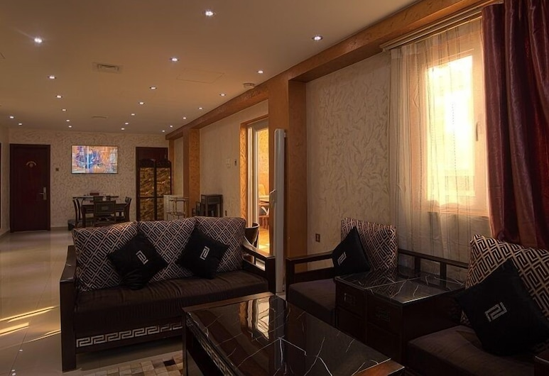Hôtel Errafie, Constantine, Sviitti, Olohuone