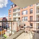 豪華公寓, 3 間臥室, 河景 (5 adults) - 陽台