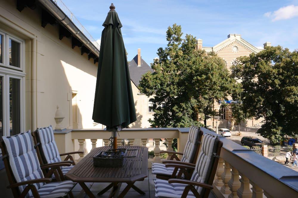 Deluxe appartement, 2 slaapkamers (Maisonette) - Balkon