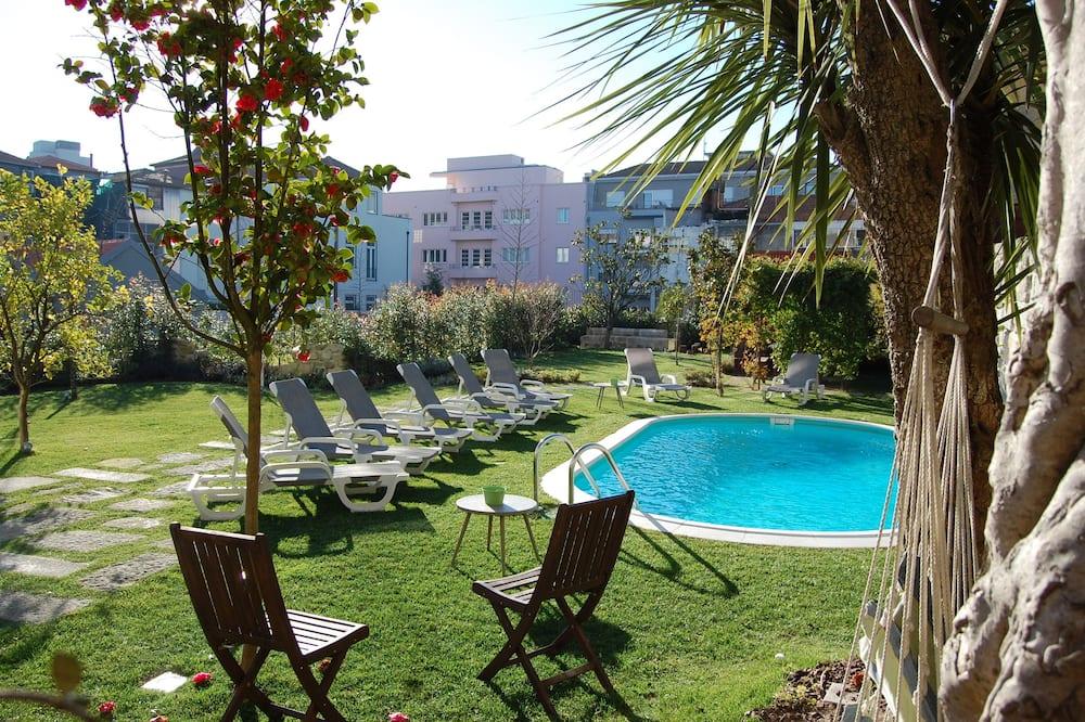 開放式客房, 泳池景, 複式 - 室外泳池