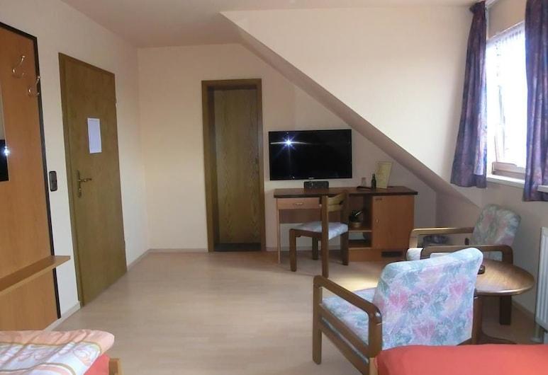 Glindenberger Hof, וולמירשטט, חדר סטנדרט יחיד, חדר אורחים