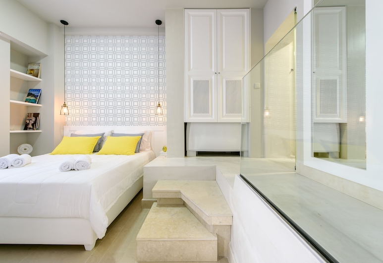 Candia Suites & Rooms, Heraklion, Familien-Suite, 1 Schlafzimmer, Stadtblick (A1), Zimmer