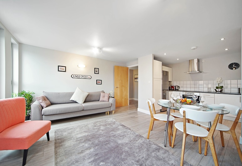 2 Bed Cozy Apartment near Regents Park FREE WIFI, London, Comfort külaliskorter, Lõõgastumisala