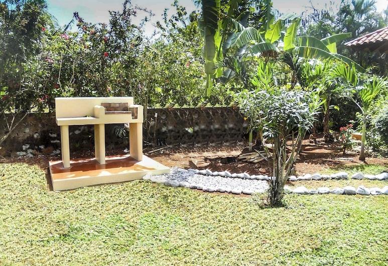 Villa Diana Ocean Front, Las Galeras, Záhrada