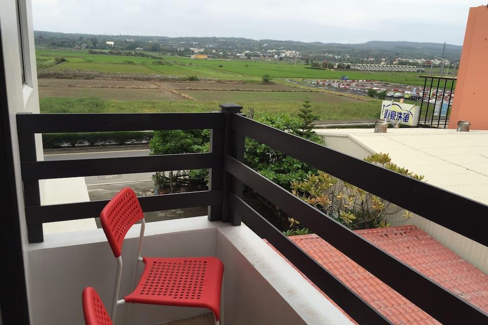 Habitación cuádruple familiar, 1 habitación, balcón - Balcón