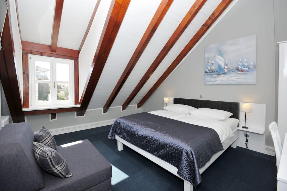 Deluxe-Doppelzimmer, Stadtblick - Wohnbereich