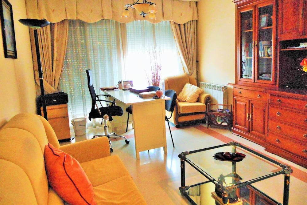 Dormitorio compartido familiar, 1 habitación - Sala de estar