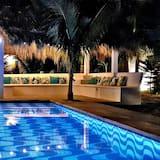 豪華開放式套房, 露台, 海景 - 泳池