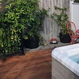 Nhà Cao cấp, 3 phòng ngủ, Bồn tắm nước nóng, Khu vực vườn - Bồn tắm spa riêng