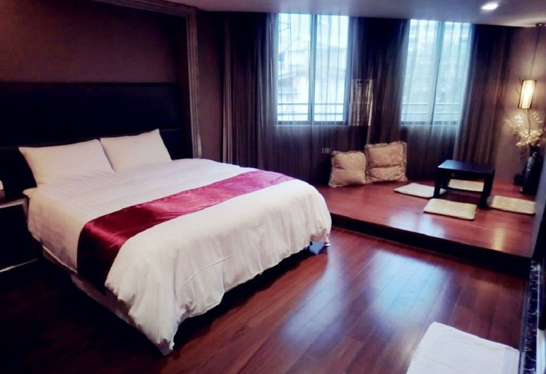 Everyday Hot Spring Hotel, Jiaoxi, Apartmán typu Deluxe, Hosťovská izba