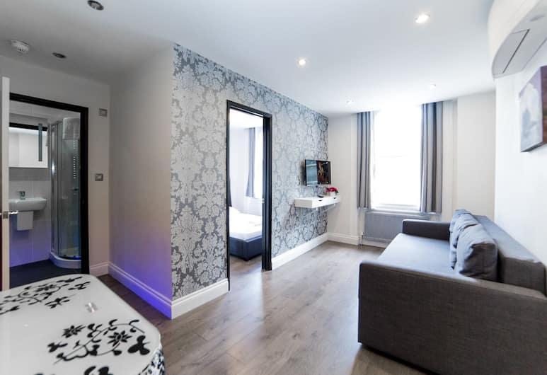 Imperial Court Suites, London, Superior-leilighet, 1 soverom (Sleeps 3), Stue