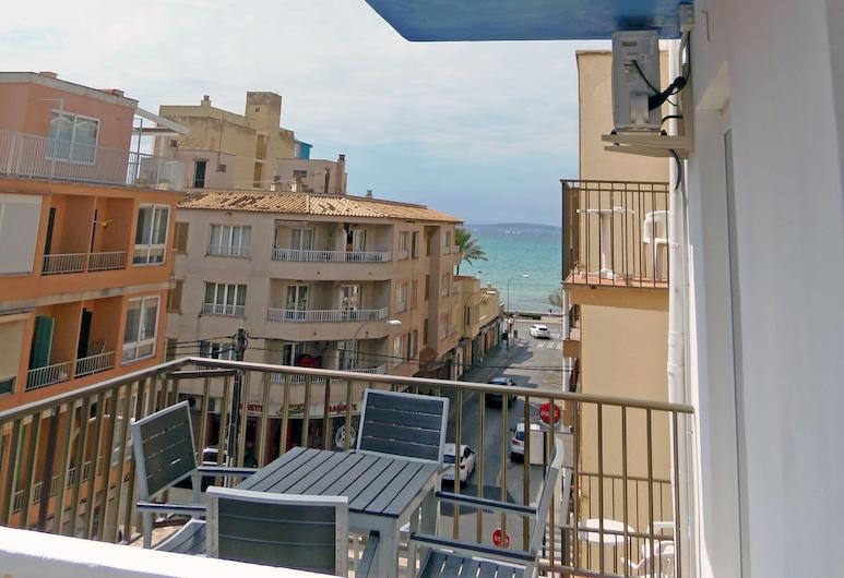 Hotel Sol de Mallorca - Adults Only, Playa de Palma, Driepersoonskamer, Terras