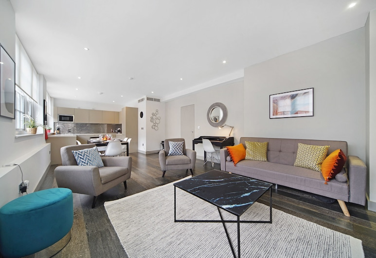 2 Bed Luxury Apartment Westminster FREE WIFI & AIRCON, London