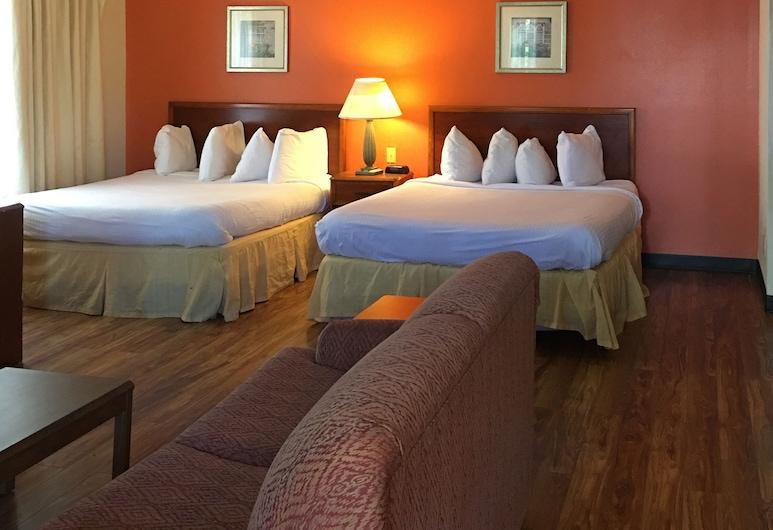 Extended Studio Hotel, Jackson, Studiolejlighed - 2 queensize-senge, Værelse