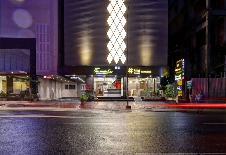 Hotel Sifat International, Surat, Viešbučio fasadas