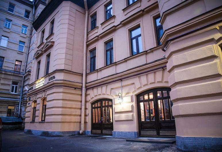 Sacvoyage Hotel, Санкт-Петербург, Фасад готелю