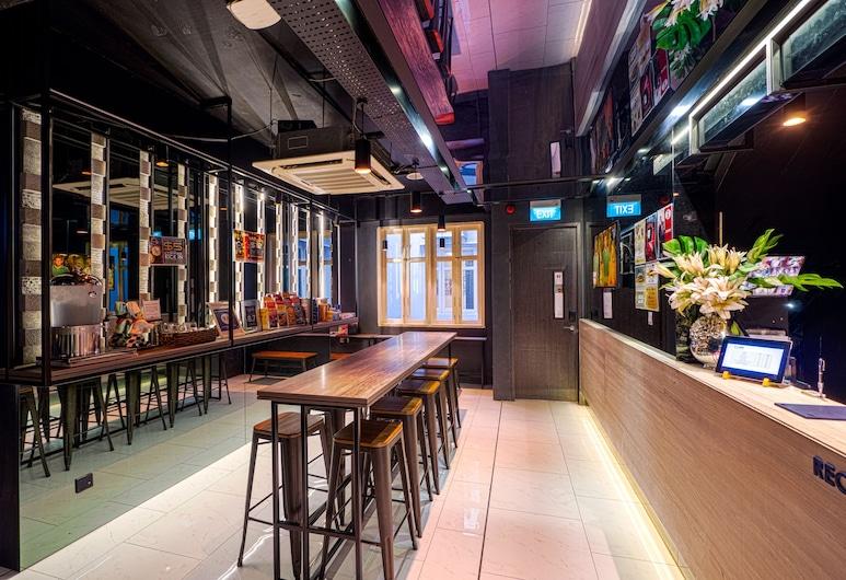 CUBE Boutique Capsule Hotel @ Chinatown (SG Clean), Singapore, Recepcia