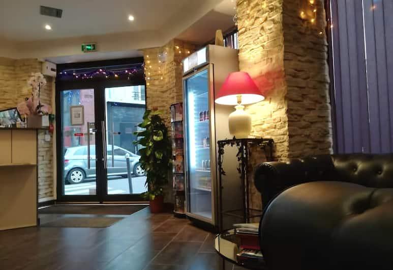 Hôtel Du Globe 18, Paris, Lobby Lounge
