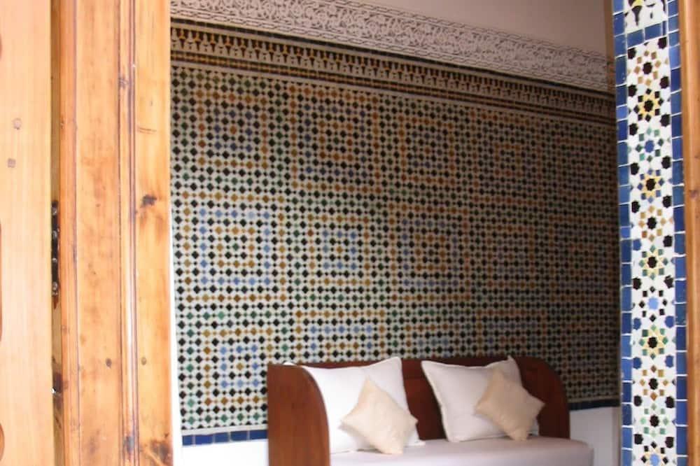 Classic-Doppelzimmer (Zellige) - Wohnbereich