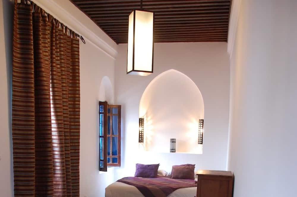 Classic-Dreibettzimmer (Terrasse) - Wohnbereich