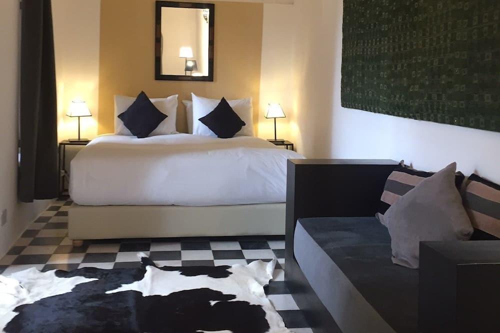 Classic-Doppelzimmer, 1 Schlafzimmer, Blick auf den Innenhof - Zimmer