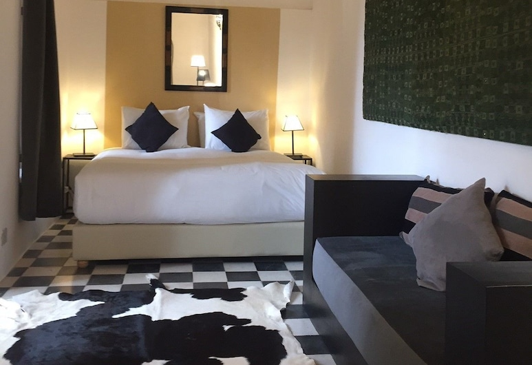 Riad Dar Soufa, ราบัต, ห้องคลาสสิกดับเบิล, 1 ห้องนอน, วิวสวนหย่อม, ห้องพัก